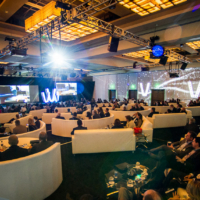 Environmental Projection Corporate Event